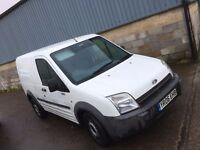 FORD TRANSIT CONNECT SWB.2006.NEW CLUTCH.NEW MOT.TOW BAR.PLY LINED.BULKHEAD