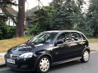 VAUXHALL CORSA AUTOMATIC 2005 5DOOR 15 SERVICES 3 PRIVATE OWNERS HPI CLEAR EXCELLENT CONDITION