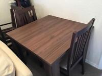 Dining table and 4 chairs NEW £599. Never used