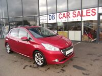 DIESEL 2013 13 PEUGEOT 208 1.6 ALLURE E-HDI 5D 92 BHP***GUARANTEED FINANCE***PART EX WELCOME***