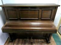 Beautiful Dark Oak 'Waddington' Upright Console Piano - CAN DELIVER