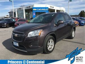 2014 Chevrolet Trax 1LT One Owner  FWD Alloys  Cloth Kingston Kingston Area image 1