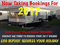 CARAVAN HIRE TOWYN NORTH WALES 2017 DATES AVAILABLE
