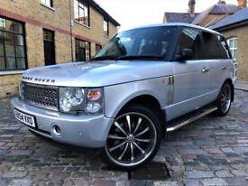 Land Rover Range Rover 4.4 V8 Vogue 5dr/ p/x welcome *6 MONTHS WARRANTY*FULL S/H* 2005 (54 reg), SUV