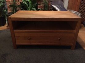 Laura Ashley Solid Oak TV Cabinet Stand