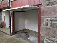 Secure Motorcyle Garage/Lockup To Let Central Forfar £10 per Week