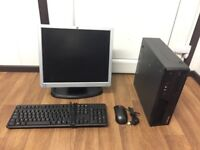 Gaming Computer PC Complete Setup with Monitor (Intel Quad Core, 8GB RAM, 500GB HD, GT 710 Graphics)