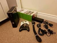 Xbox 360 Slim Elite 250gb Plus 26 Games