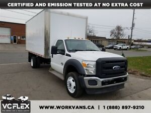 2011 Ford F-550 CHASSIS CAB 6.7L Diesel 16Ft + Ramp