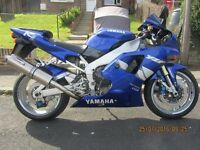 "Yamaha R1 ""Show room condition"", unmolested, all original, like brand new. Full service history"