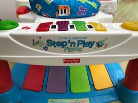 Fisher Price Step 'n' play piano