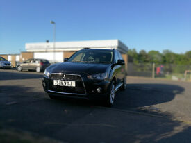 Mitsubishi Outlander 2.3 DI-D GX 3 5d 175 BHP, SUV,MPV, 4 WHEEL DRIVE, 4X4, EXCELLENT CONDICTION