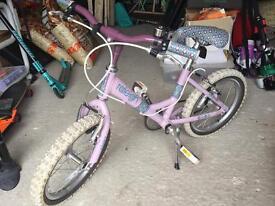 """Girls Raleigh Starz bike 16"""""""