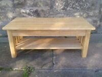 Quality Solid Timber Coffee Table