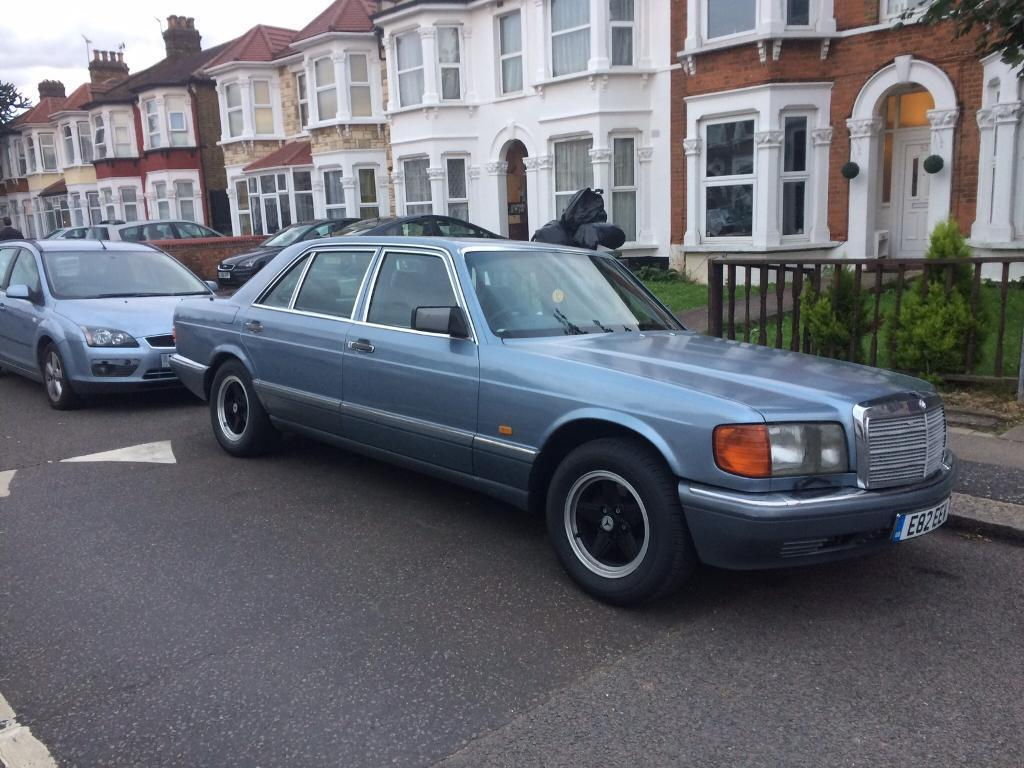 1988 Mercedes 420 Sel W126 V8 Swap Sell In Romford London