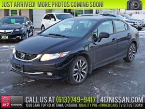 2014 Honda Civic Touring | Navigation, Leather, Sunroof