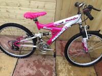 Pink 15 speed Magna bike