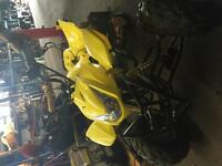 Yellow atv for sale 110cc