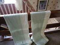 """pair of unlined curtains 66"""" x 72"""""""