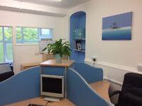 Desk space available in a fantastic bright office/studio.