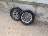 child motorbike wheel