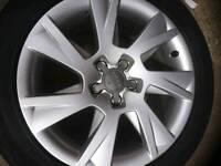 """Audi Alloys 17"""" x4"""