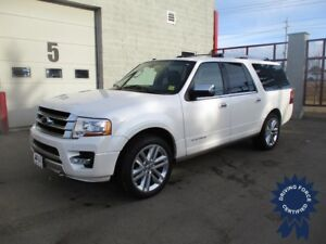 2017 Ford Expedition Max Platinum, 8 Seater, Rear DVD, Tow Pkg.