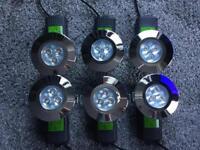 6 LED warm white 60 Watts