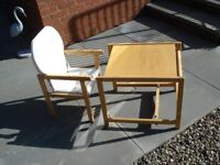 kKIDS TABLE AND CHAIR