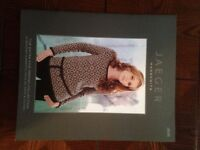 Jaeger Knitting pattern books x 2