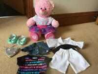 Build a bear with accessories - hardly used!
