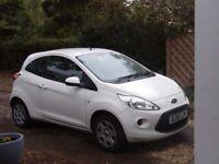 Ford KA White, Low Mileage, Still Under Warranty