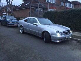 Mercedes CLK 200 AMG look Economic Car 1year MOT