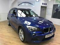 BMW X1 2.0 XDRIVE18D M SPORT 5d 141 BHP 6 MONTHS WARRANTY (blue) 2013