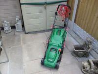 Qualcast 1600W Electric Rotary Lawn Mower - 37cm brand new