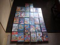 31 Children's VHS Videos