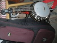 A truly exceptional banjo/ukelele + padded case