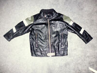 Boy's NEXT leather jacket, size 18-24m, excellent condition!just 11.99