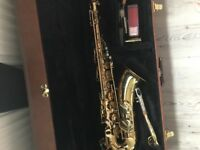 Roberts tenor saxophone purchased in NYC