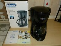 DeLonghi 10 cup filter coffee machine