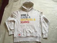 Nike men's jumper hoody white size XL used good condition £6