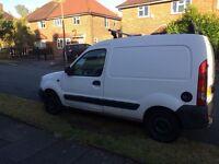 For sale white diesel Renault kangoo van £900