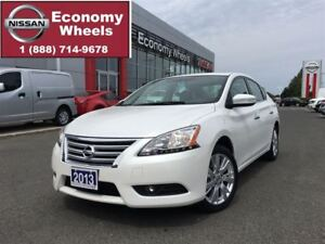 2013 Nissan Sentra SL / ONE OWNER/ LEATHER / LOADED