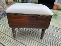 Wooden stool vintage