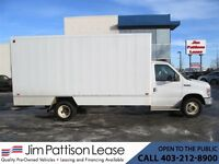 2010 Ford E-450 6.0L Diesel 16 Ft. Cube Van w/ Slideing Ramp