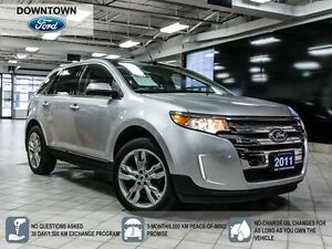 2011 Ford Edge Limited, Panoramic Moonroof, Premium Leather pack