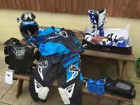 New motocross kit