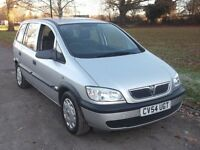 2004 VAUXHALL ZAFIRA LIFE 1.6, MOT NOVEMBER 2017, FSH, NEW CLUTCH JUST FITTED, ONLY £795