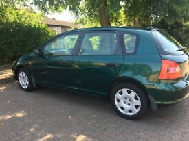 Excellent condition and very low mileage driven - Honda Civic - MOT 12 Months