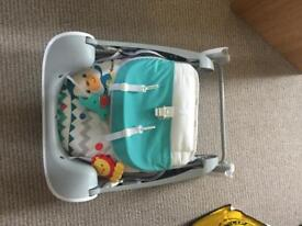 Fisher price take alone swing and seat